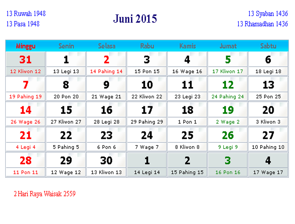 Download Kalender Islam 2014 Lengkap Suitereview