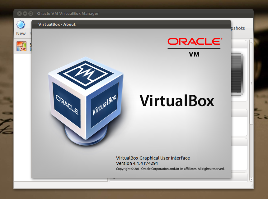 VirtualBox 4.1 di Ubuntu 11.10 Oneiric Ocelot