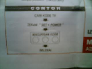Kode Remote Multi Untuk Macam-Macam TV