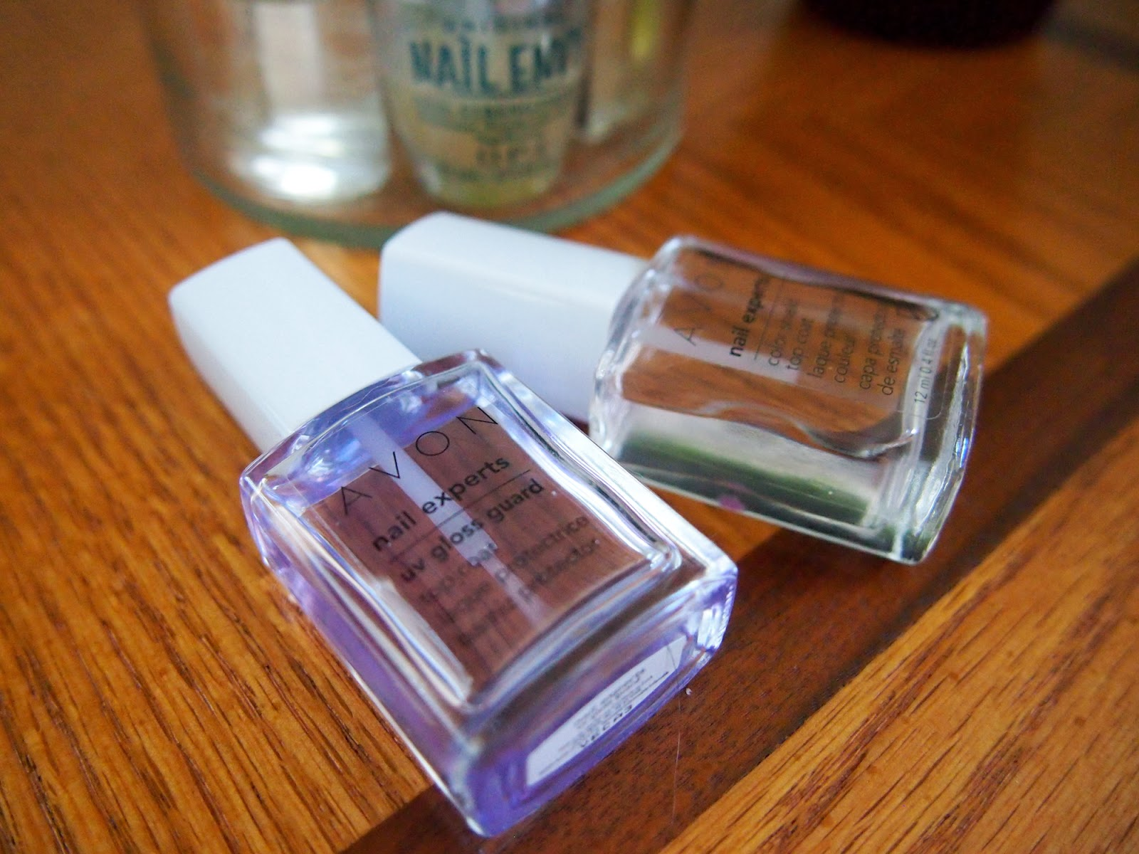 Bedside Nail Essentials Avon OPI Nail Envy Sally Hansen Cuticle