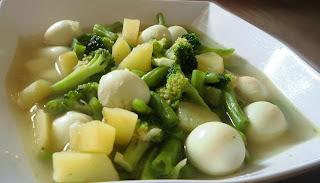 resep sayur sop bening telur puyuh