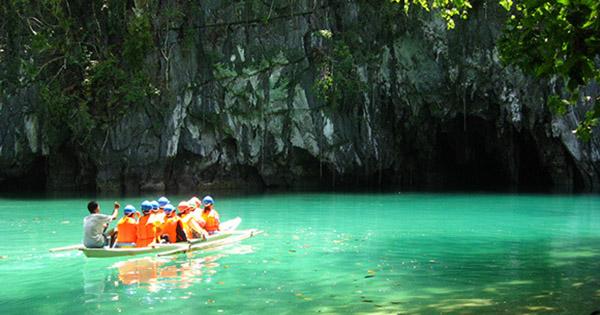 Puerto Princesa Underground River in Palawan