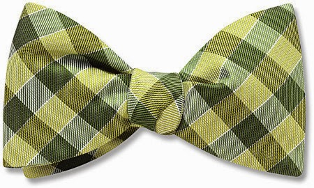 Draughts bow tie from Beau Ties Ltd.