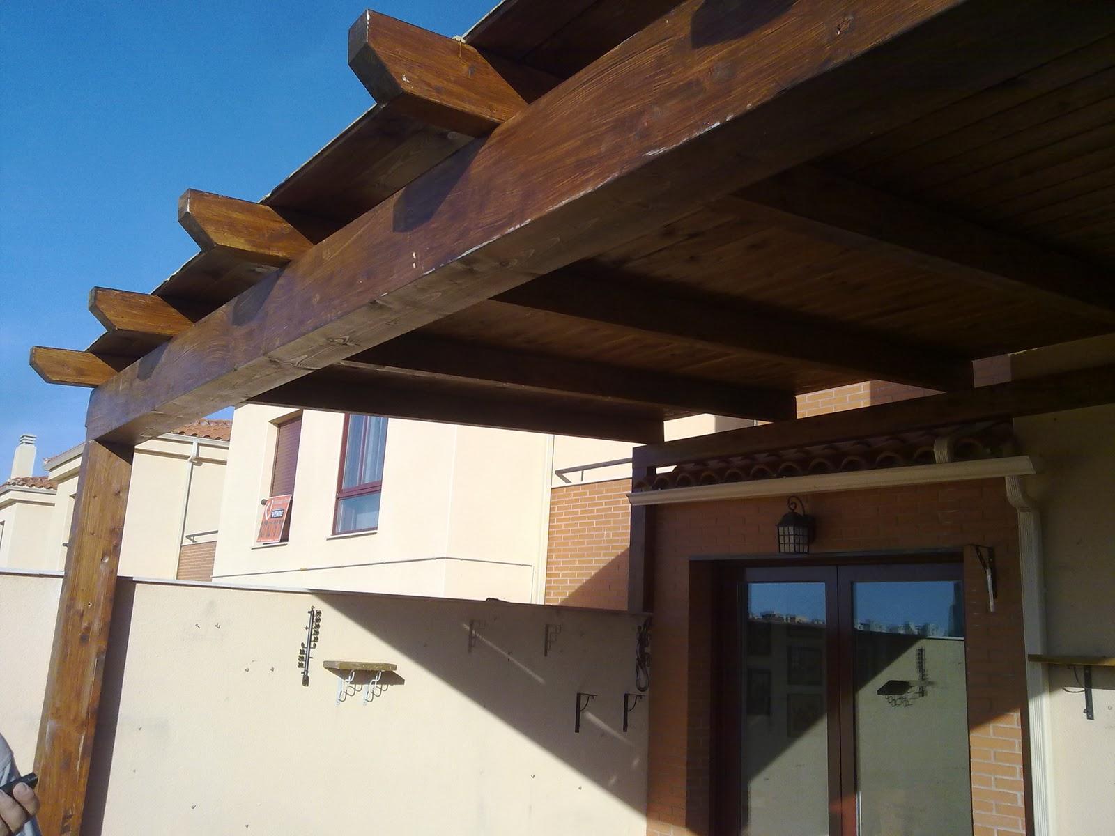 Ricardo santos carpinter a 652 083 710 c mar for Tejado madera maciza