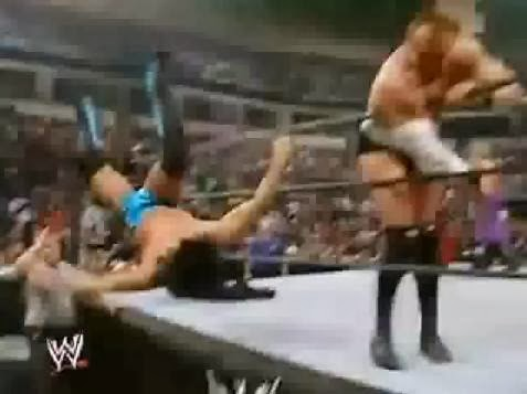 Paul London Snitsky Royal Rumble 2005 elimination insane bump
