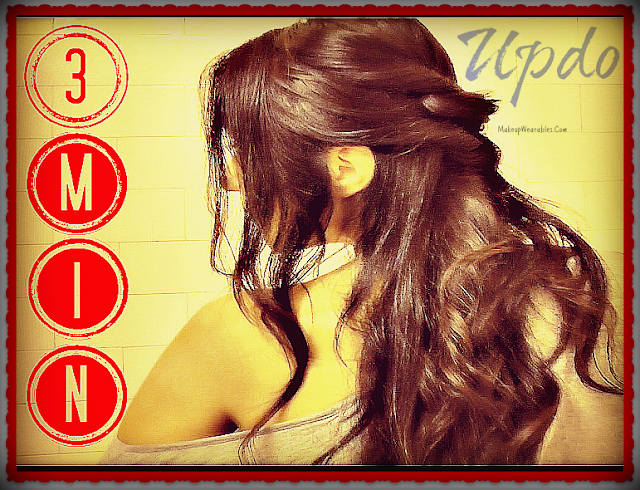Image2222ty Elegant Curly Half Updos Hairstyle for Medium Long Hair Tutorial Video