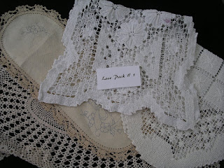 New Lace Doilies in my shop