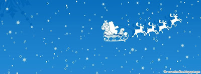 Santa Snow blue christmas images timeline