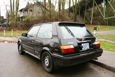 1987 Toyota Corolla FX16 GT-S.