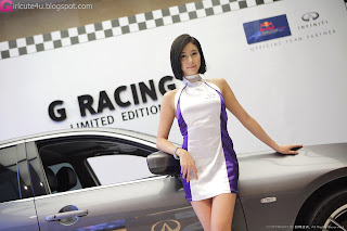 6 Kim Ha Yul - Infiniti G Racing Limited Edition-very cute asian girl-girlcute4u.blogspot.com