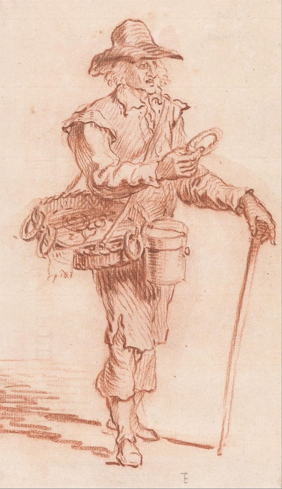 A pedlar, a hawker, a chapman
