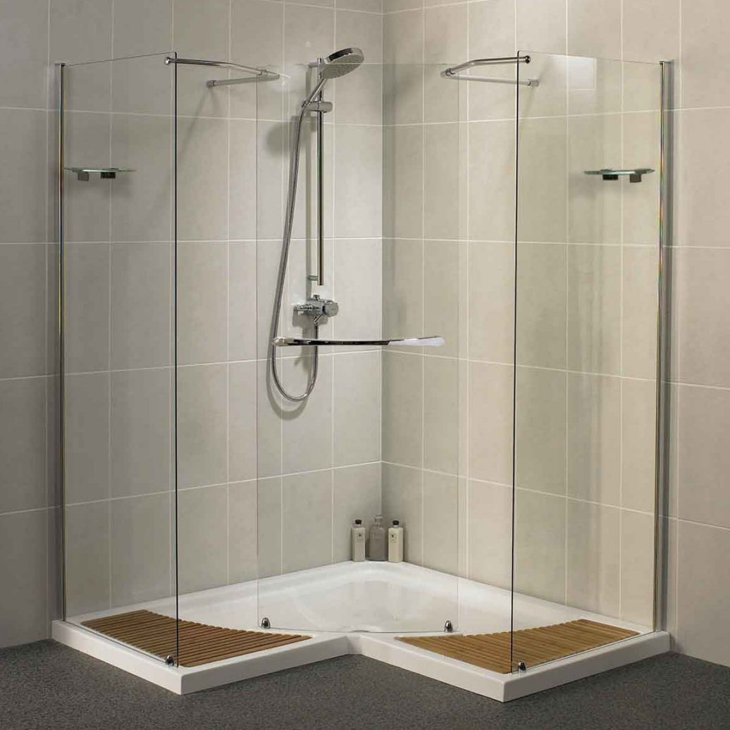 Mobile homes walk in shower kits