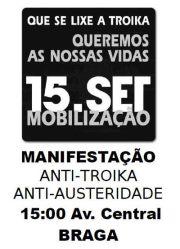 Acorda, Braga, Indignados, Internacional, Levantar, Mobilização, Nacional, Nação, Portugal, Povo, Rua, Troika, Vidas