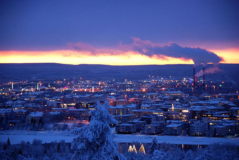 Wilayah terbesar paling utara di finland