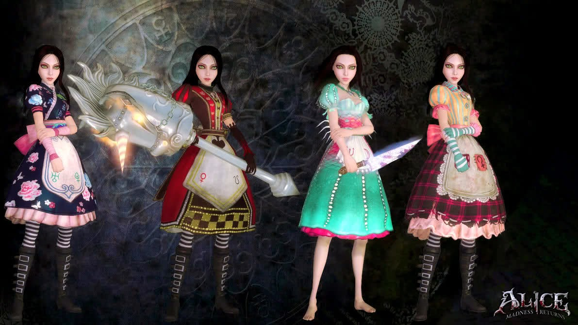 alice madness returns trajes 1