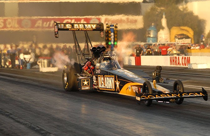 Top Fuel dragsters class