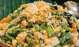 resep cara membuat urap sayur segar