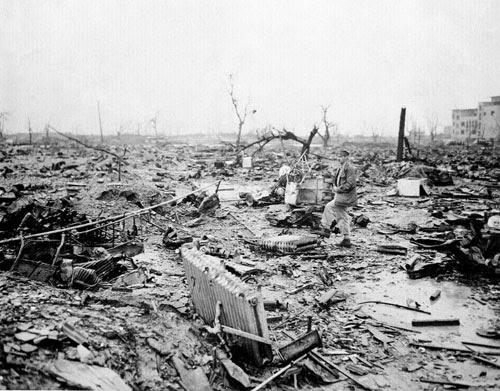 Bombas nucleares de Hiroshima e Nagasaki