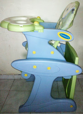 Mamalove 2in1 Highchair cum Study Table set (used)