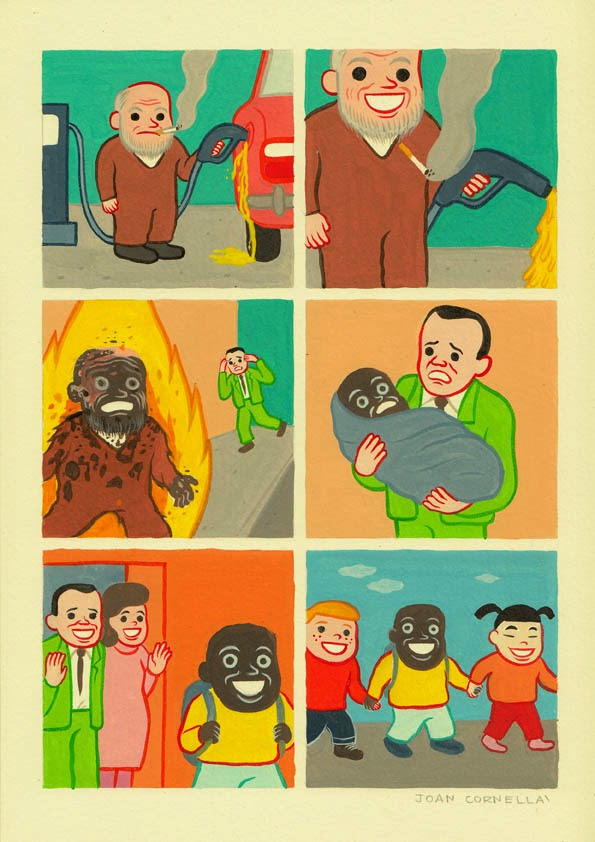 Page 1 | Joan Cornellà - Marupakan. Published by Trony on Thursday, 18 December 2014 in Art and Design (Design's Factory)