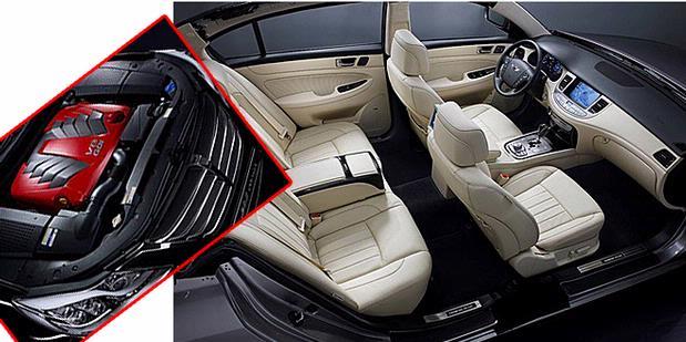 Hyundai Genesis Prada Interior