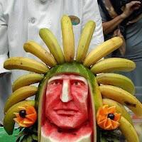 maya scultura di frutta fine del mondo
