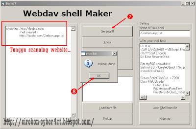 Cara Deface Website Dengan Webdav Shell Maker | Hmei7