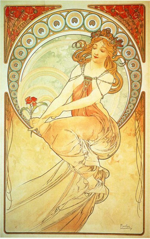 Archive Alphonse Mucha And The Disney Princess Nouveau Collection