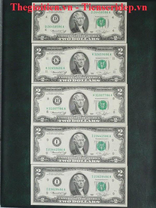 2 đô 1976 seri lộc phát, phát lộc