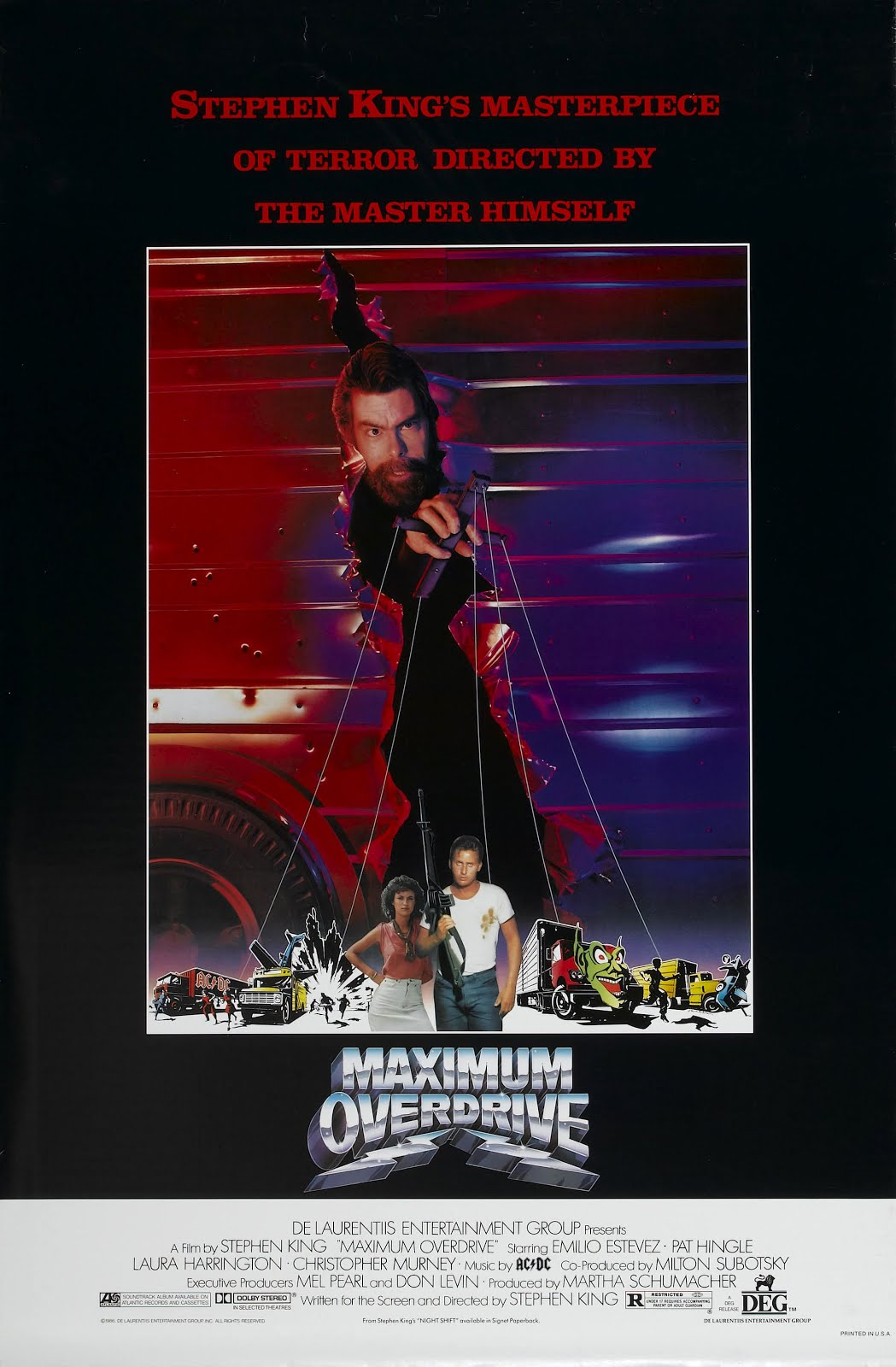 Let's Get Out Of Here!: Maniacal Movie Poster Monday #102!