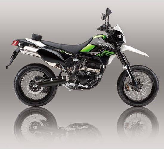 Kawasaki D Tracker X 250 Hijau