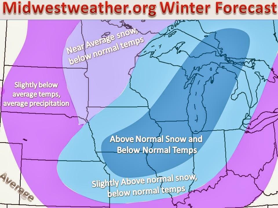 NOAA 2014 Winter Forecast