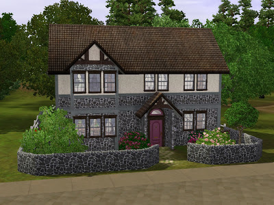 SimsRepublic sims 3 republic raspberry house