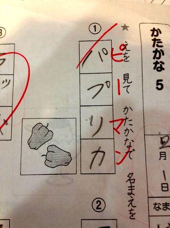 これは正解にしてあげてよ先生 ... : 小学5年生漢字テスト : 漢字