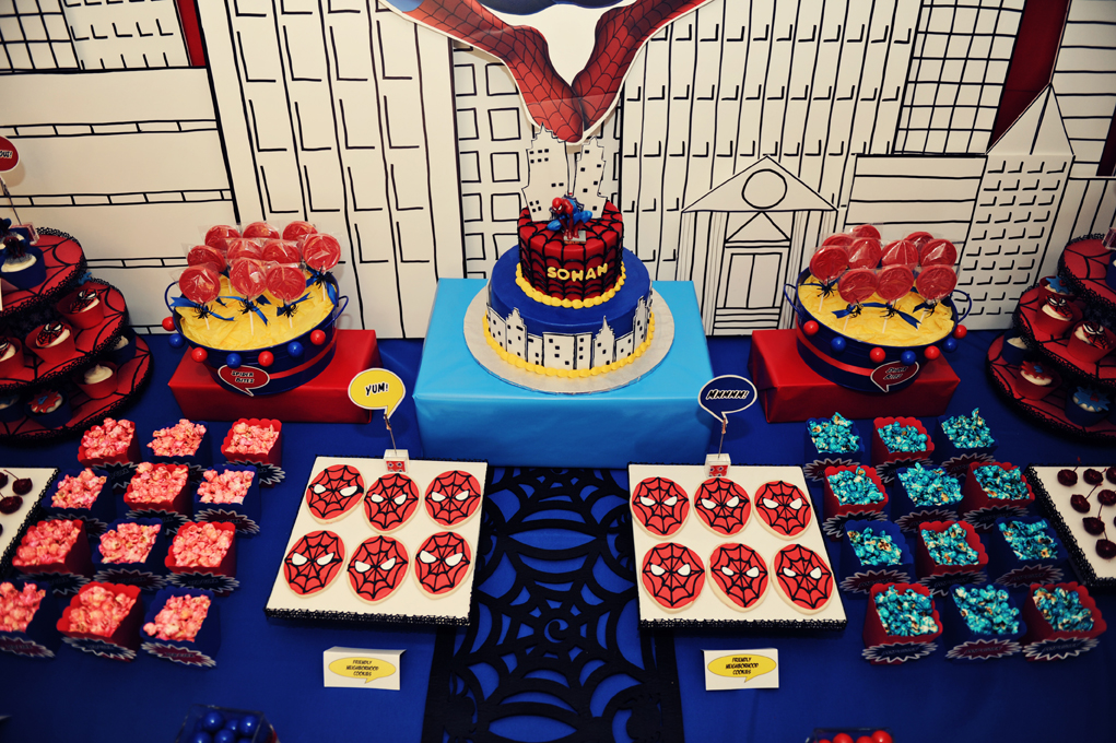 The Party Wall Spiderman Birthday Party Part 1 u0026 2 As Featured on Amy Atlas! & The Party Wall: Spiderman Birthday Party: Part 1 u0026 2 As Featured on ...