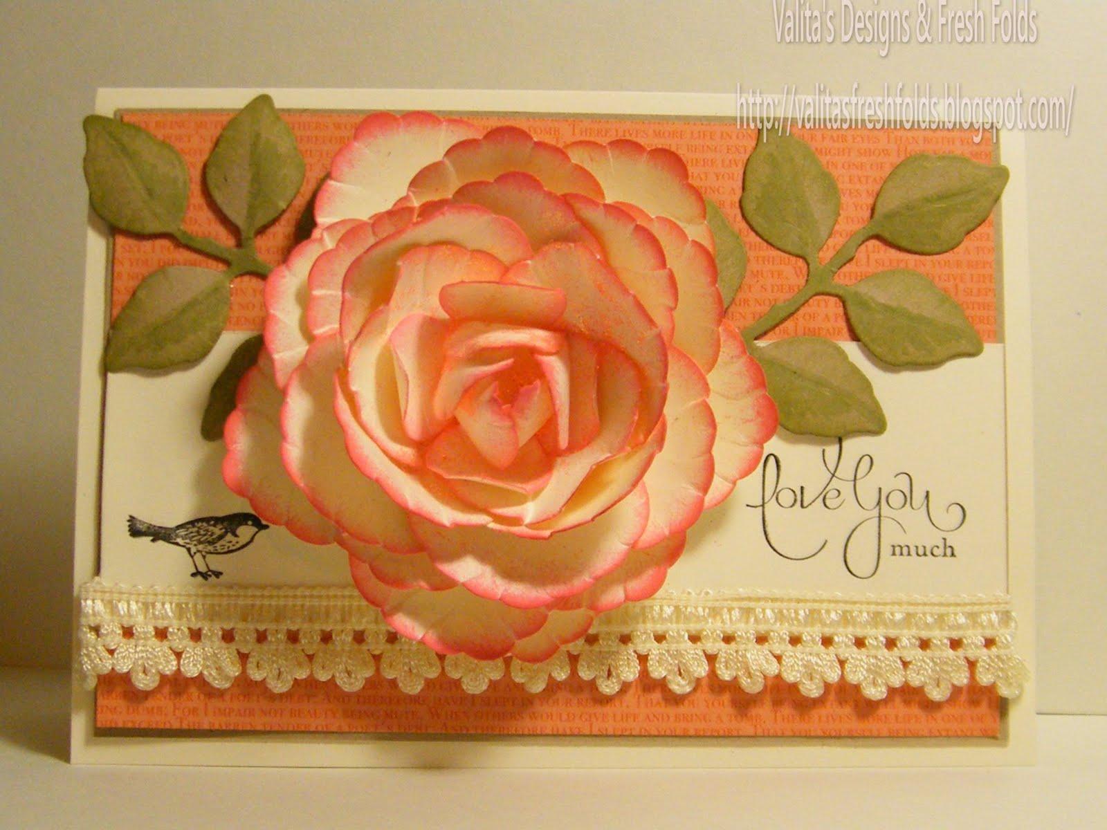 Valitas Designs Fresh Folds Making Paper Art Peony Flowers