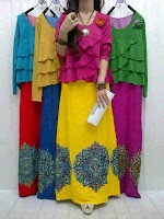 Gamis Spandex Rayon SOLD OUT