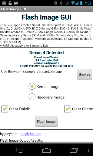 Flash Image GUI apk
