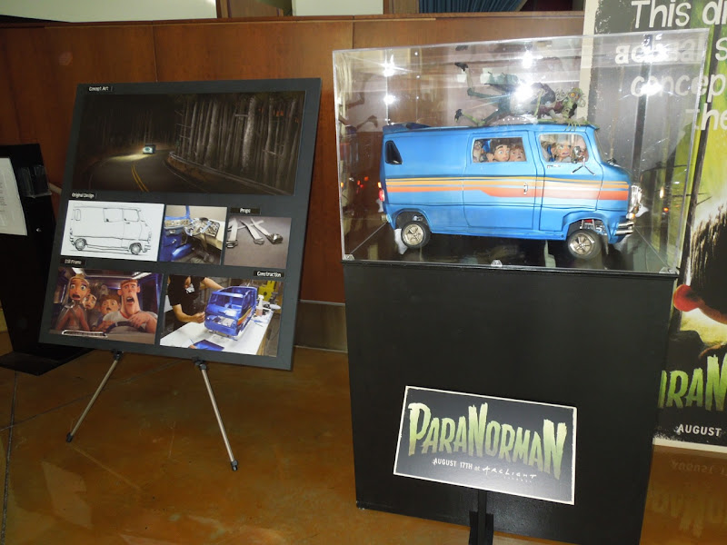 ParaNorman model exhibit