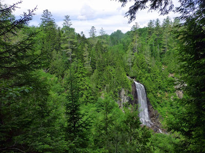 OK Slip Falls overlook, Saturday 06/28/2014.  The Saratoga Skier and Hiker, first-hand accounts of adventures in the Adirondacks and beyond, and Gore Mountain ski blog.