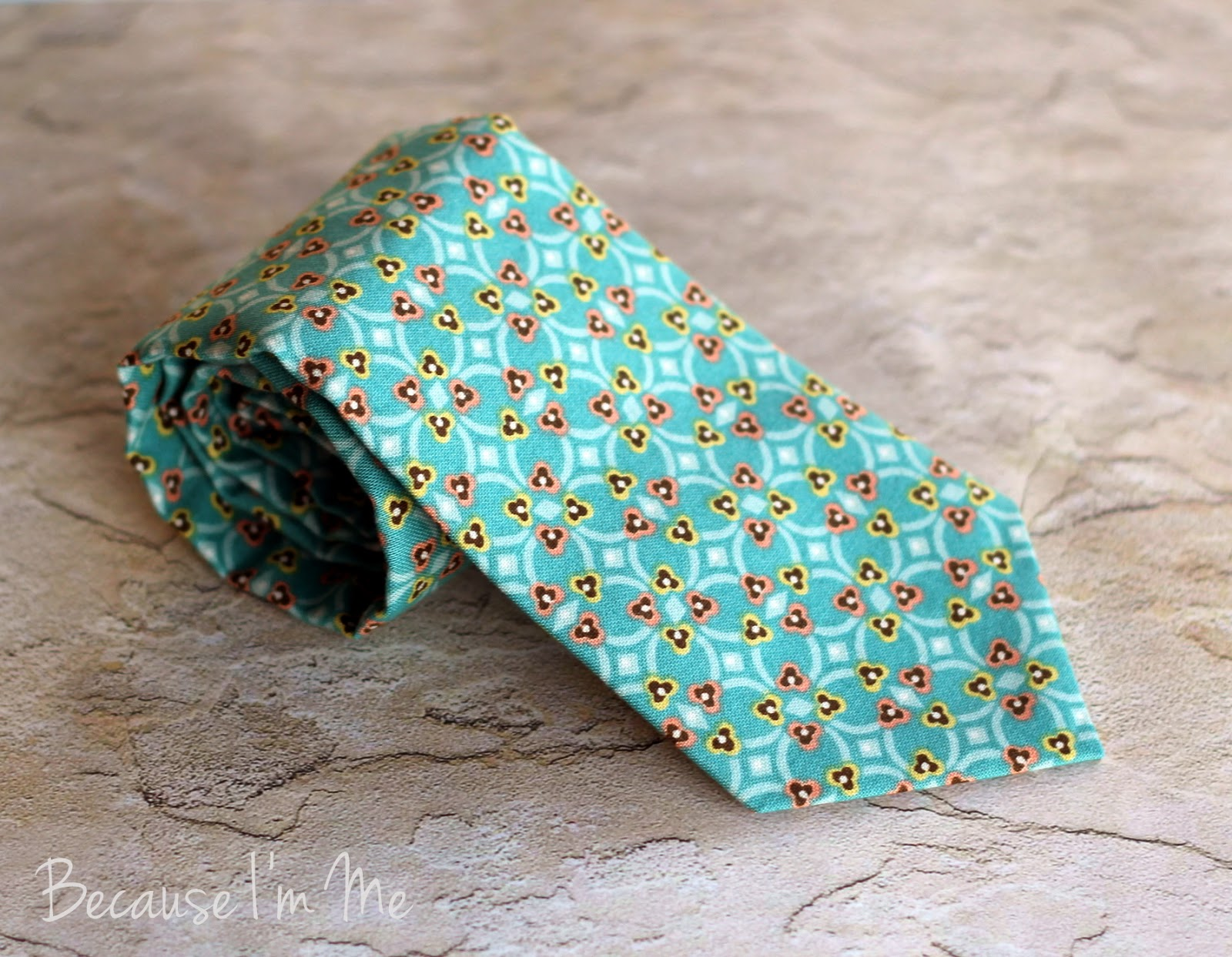 Because I'm Me boys and mens cotton necktie