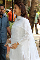 Bollywood Celebrities at Madhuri Dixit's Father Prayer