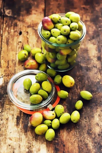 J'ai des olives tombées de l'arbre mais pas la recette au secours !!! Vous m'aidez ???