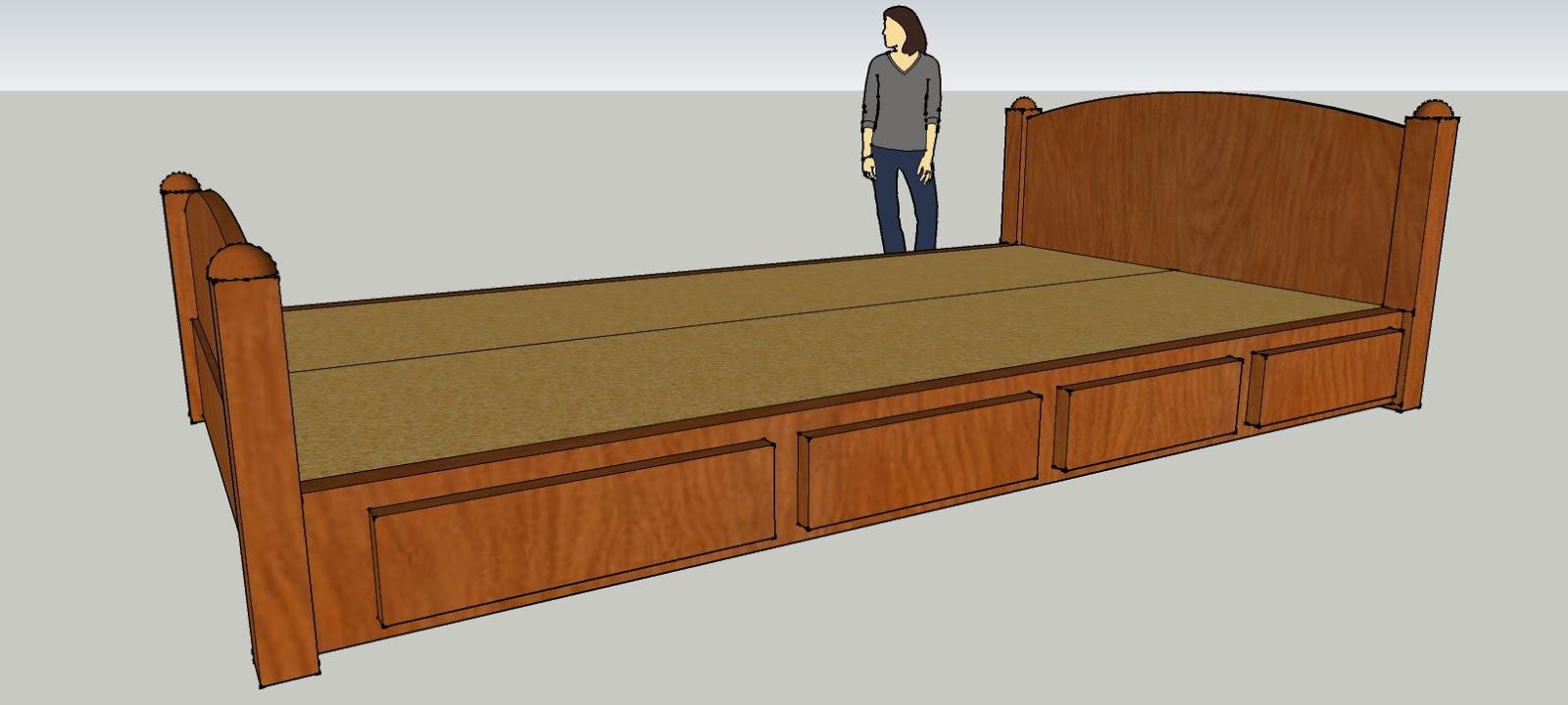 Scotts Contracting Design Build Project Platform Bed original design