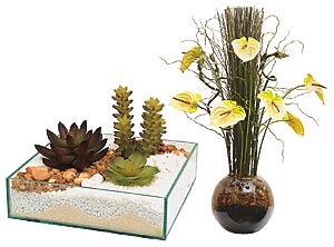 Como decorar com vasos