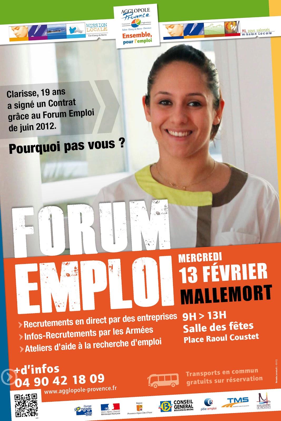 forum emploi mallemort
