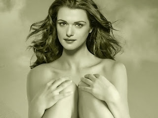 Rachel Weisz nude art photo