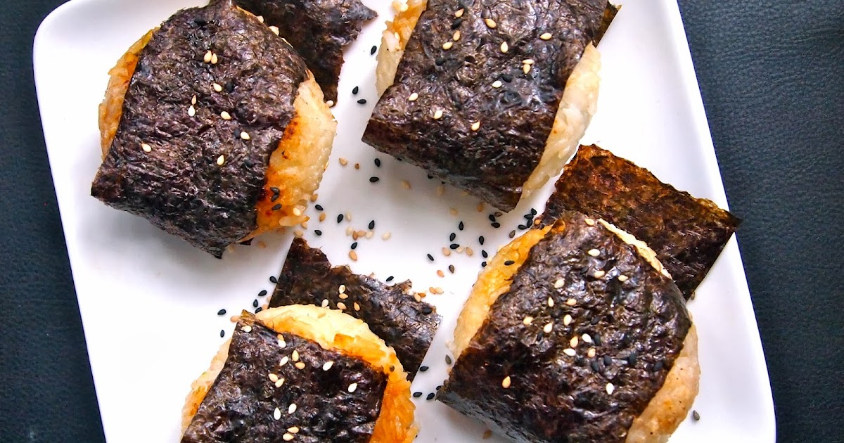 Michelle's tiny kitchen: Easy Yaki Onigiri (Grilled Rice ... K Michelle 2013