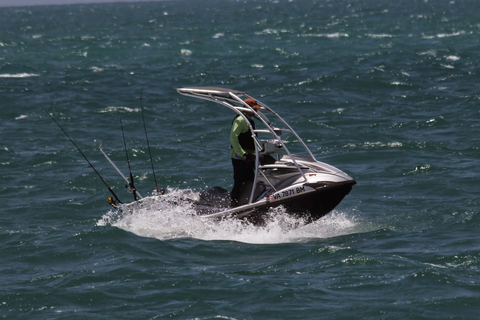 Visions from key west april 2014 for Fishing jet ski