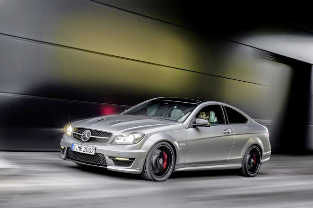 mercedes c204 coupe edition 507
